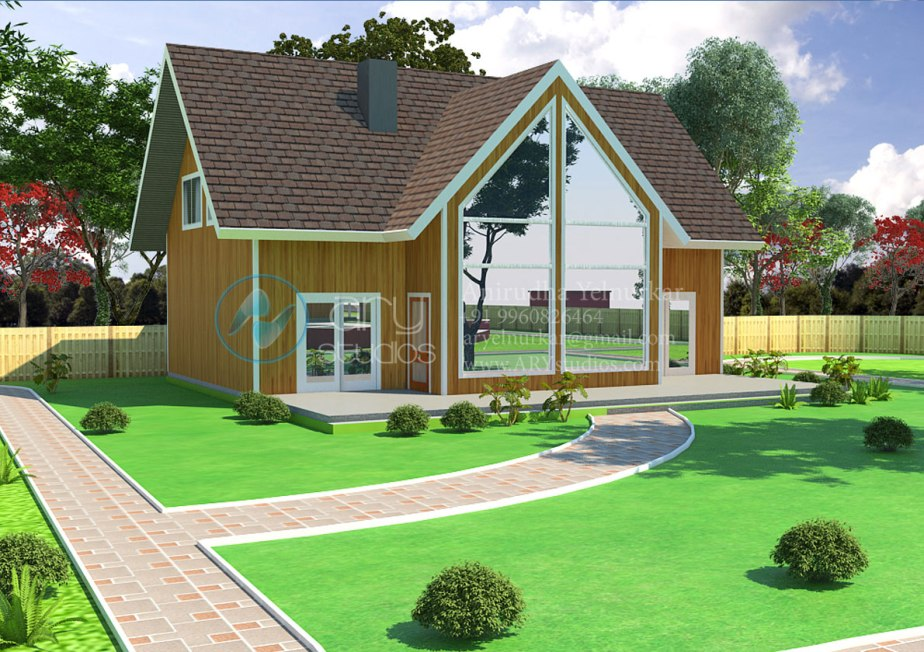 3d+cottage+rendering+architectural+day+view+realistic